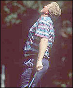 Montgomerie lost out in a play-off in 1995