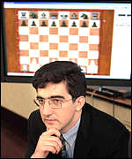 Kramnik with Deep Fritz