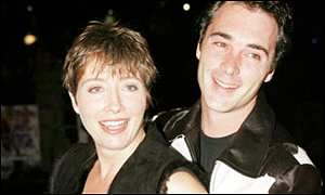 Emma Thompson with Greg Wise
