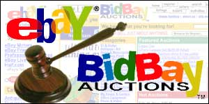 Ebay is taking rival BidBay to court
