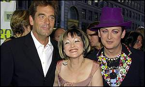 Huey Lewis, Cindy Lauper and Boy George