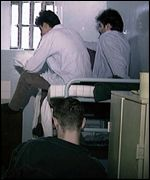 Three-in-a-cell at unidentified jail