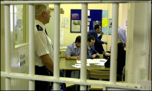 Classroom at Winson Green jail