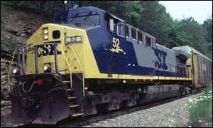 CSX locomotive CSX Transportation