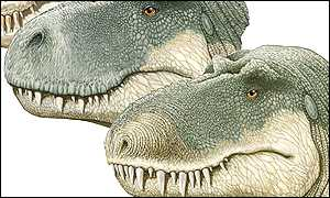 Alternative views of T. rex, Science/Bill Parsons