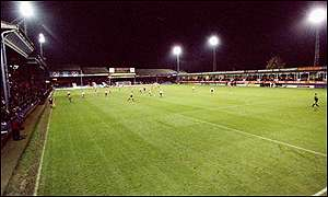 Luton's Kenilworth Road ground