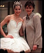 Darcey Bussell and Cherie Blair