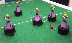 Omni Japan robot football team RoboCup
