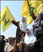 Hezbollah supporters throw rocks at Israeli position at Fatima Gate