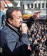 Barghouti makes speech in Ramallah (December 2000)