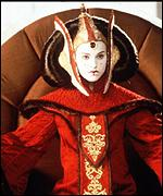 Natalie Portman returns as Amidala