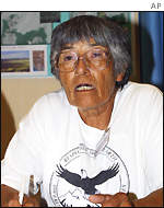 Carrie Dann, Shoshone tribal elder