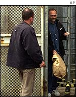 Patrick Magee being released from jail