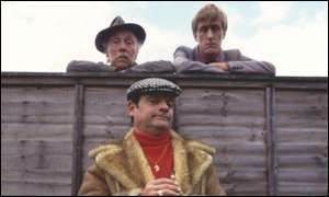 Lennard Pearce, David Jason and Nicholas Lyndhurst