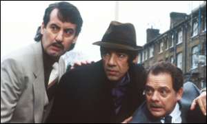 John Challis, Roger Lloyd-Pack and David Jason