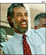 East Timor's pro-independence leader Xanana Gusmao