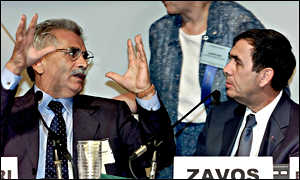 Dr Severino Antinori and Dr Panos Zavos