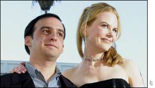 Nicole Kidman and Alejandro Amenabar.