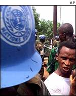 UN peacekeeping force