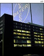 Bayer's headquarters in Leverkusen