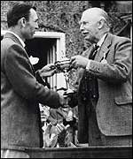 Ben Hogan collects the Ryder Cup in 1949