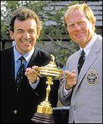Nicklaus and Jacklin were team captains in 1987