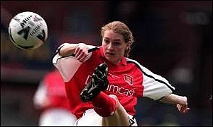 Angela Banks was one of Arsenal's star players