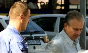 War crimes suspect Mehmed Alagic under guard in Sarajevo