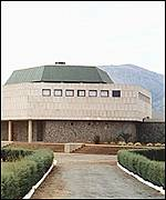Parliament building in Mbabane, Swaziland