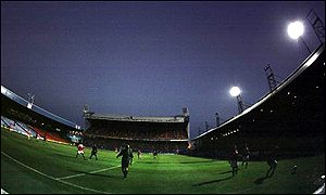 Wimbledon's temporary home at Selhurst Park