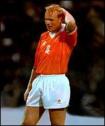Ronald Koeman of Holland