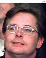 Actor and Parkinson's research campaigner Michael J Fox