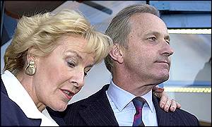 Christine Hamilton with husband Neil