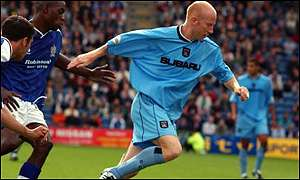 Lee Hughes has returned to West Bromwich Albion from Coventry