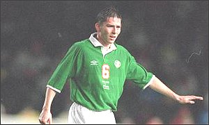 Matt Holland has a habit of scoring important goals for Ireland