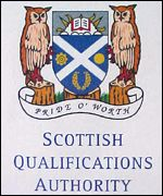 Scottish Qualifications Authority logo