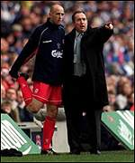 Houllier - terse response