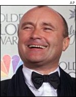 Singer Phil Collins