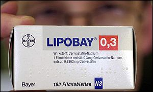 Bayer's Baycol/Lipobay anti-cholesterol drug