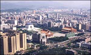 Taipei, capital of Taiwan