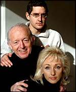 Louis Theroux, Paul Daniels and Debbie McGee