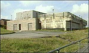Camelford waterworks in 1990