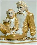 Michael Jackson with Bubble by Jeff Koons