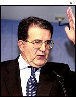 Romano Prodi, EC President