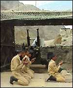 Pakistani soldiers during the Kargil war