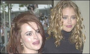 Helena Bonham Carter  and Estella Warren