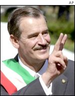 President Vicente Fox of Mexico