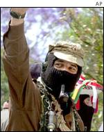 Subcomandante Marcos of the Zapatistas