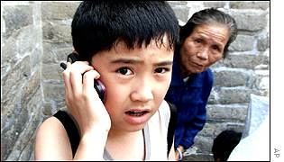 New generation of Chinese growing up with mobiles
