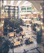 West Quay in Southampton